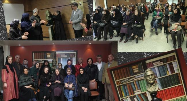 """مراسم بزرگداشت """"جبار باغچهبان"""" در محل انتشارات فنی ایران(کتابهای نردبان) برگزار شد."""