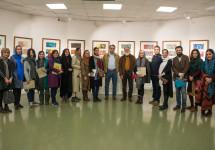 آیین رونمایی تصویرسازیهای ۱۳۸ کتاب تألیفی نردبان در خانه هنرمندان برگزار شد.