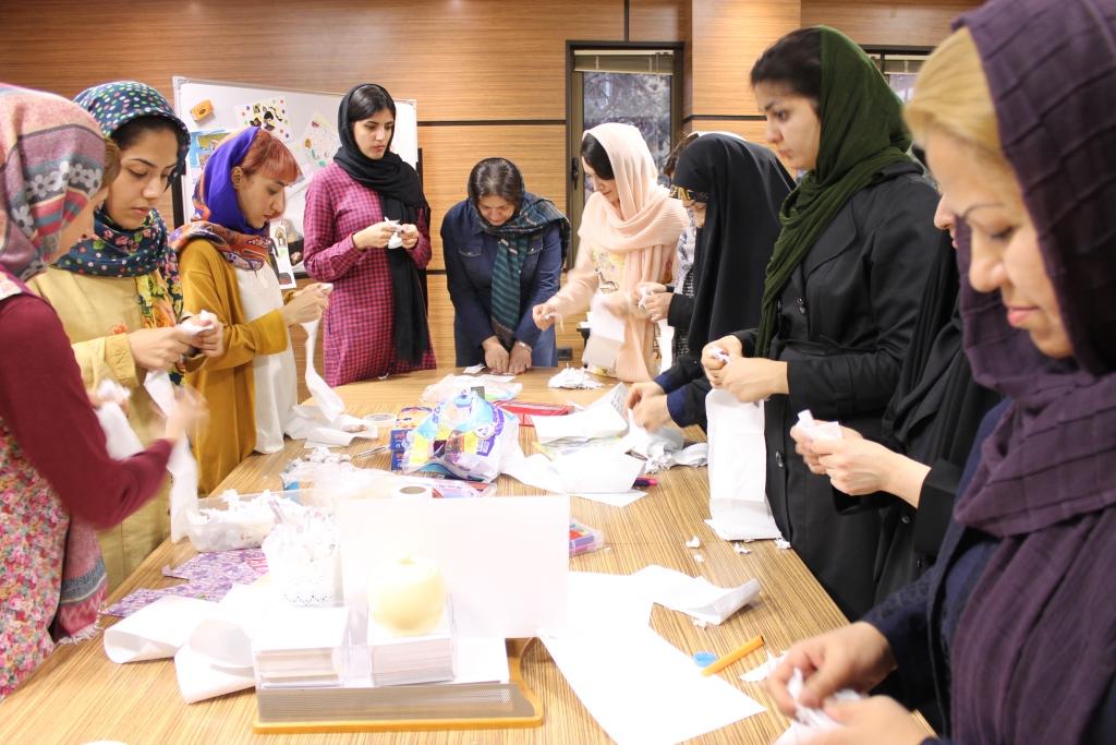 گزارش برگزاری کارگاه هنر (2)